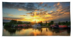 Bath Towel featuring the photograph Mercia Marina 11.0 by Yhun Suarez