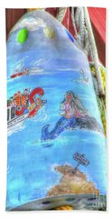 Bath Towel featuring the photograph Mermaid by Adrian LaRoque