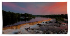Merrimack River Falls Hand Towel