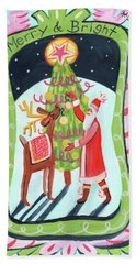 Merry And Bright Bath Towel