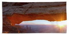 Mesa Arch, Canyonlands, Utah Bath Towel
