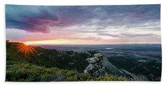 Mesa Verde Sunset Hand Towel