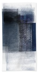 Mestro 2- Abstract Art By Linda Woods Bath Towel