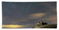 Meteors Above The Fortress Bath Towel