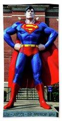 Metropolis - Home Of Superman 001 Bath Towel