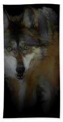 Mexican Grey Wolf Da2 Bath Towel