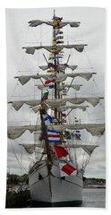 Mexican Navy Ship Hand Towel