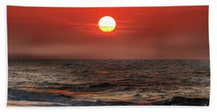 Mexico Beach Sunrise Hand Towel