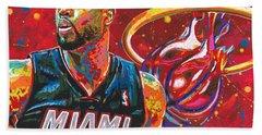 Miami Heat Legend Hand Towel