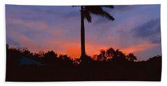 Miami Sunset Hand Towel