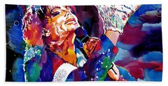 Michael Jackson Hand Towels