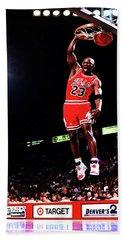 Michael Jordan 23f Hand Towel