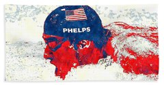 Michael Phelps Bath Towel
