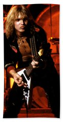 Michael Schenker Bath Towel