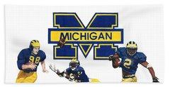 Michigan Heismans Hand Towel