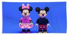 Mickey And Minnie Bath Towel