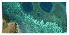 Hand Towel featuring the photograph Mickey Mouse Beach Of Flores Island by Pradeep Raja PRINTS