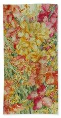 Summer Day Bath Towel by Kim Tran