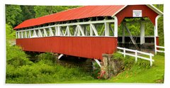 Middle Creek Township Covered Bridge Hand Towel