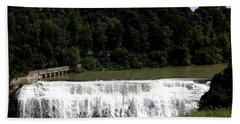 Middle Falls In Rochester New York Hand Towel