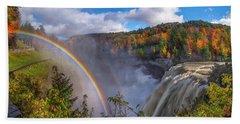 Middle Falls Rainbow Hand Towel