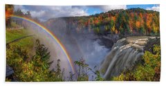 Middle Falls Rainbow Hand Towel