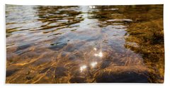Middle Of The River Bath Towel