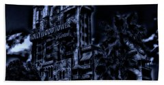 Midnight At The Tower Of Terror Mp Bath Towel