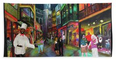 Midnight In New Orleans Hand Towel