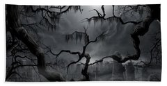 Midnight In The Graveyard II Hand Towel by James Christopher Hill