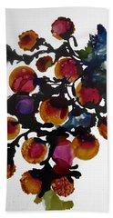 Midnight Magiic Bloom-1 Bath Towel by Alika Kumar