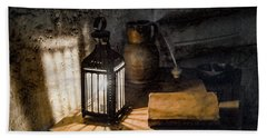 Paris, France - Midnight Oil Hand Towel