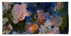Midnight Summer's Dream Bath Towel by Nancy Kane Chapman