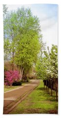 Midtown Greenway Spring In Minneapolis Bath Towel