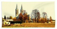 Miedzierza Church Hand Towel by Henryk Gorecki