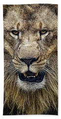 Mighty Lion Hand Towel