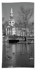 Milford Congregational Church Bw Hand Towel