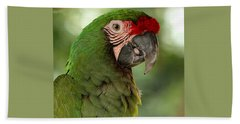 Military Macaw Bath Towel