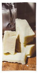 Milk And Cheese Hand Towel