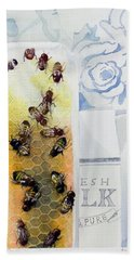 Milk And Honey Hand Towel