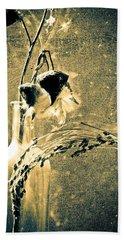 Milk Weed And Hay Bath Towel by Bob Orsillo