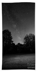 Hand Towel featuring the photograph Milky Way by Brian Jones