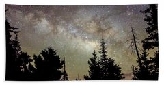 Milky Way From Mt. Graham Hand Towel