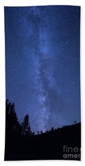 Milky Way Galaxy Bath Towel
