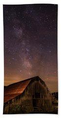Milky Way Over Boxley Barn Bath Towel