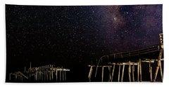 Milky Way Over Frisco Bath Towel