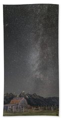 Milkyway Over The John Moulton Barn Bath Towel