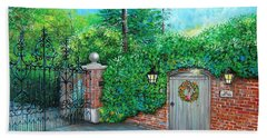 George Michaels Mill Cottage Garden Bath Towel