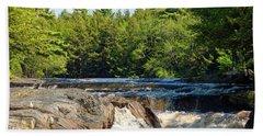 Mill Falls, Kejimkujik National Park, Nova Scotia Bath Towel