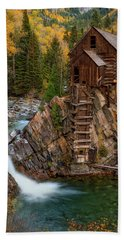 Mill In The Mountains Bath Towel
